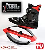 Power Jumpers Aerobic Bounding Shoes and Rebounding Boots - X-Large (Women's 14-16 / Men's 13-15)