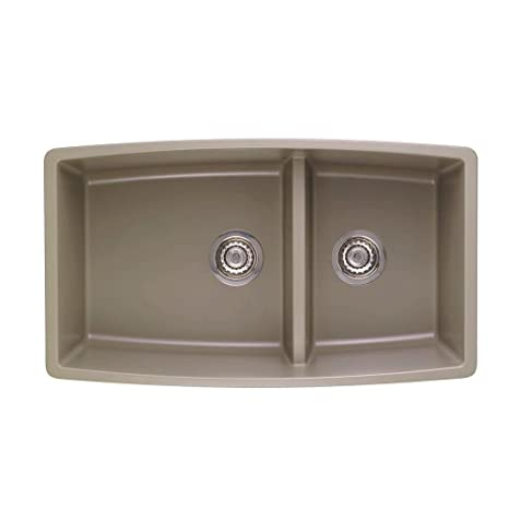 Blanco 441315 Performa 1.75 Medium Bowl Sink, Truffle