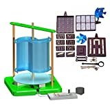 Wind Turbine & Solar Science Fair Kit - Advanced