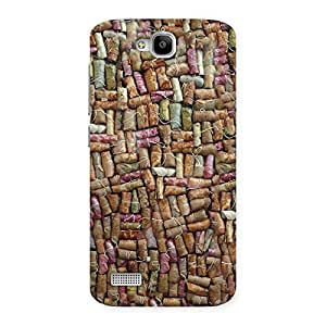 Stylish Bullet Bomb Back Case Cover for Honor Holly