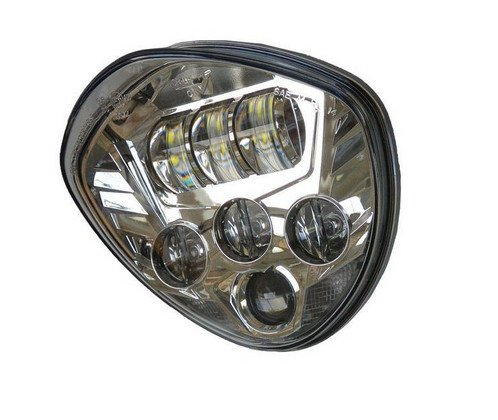Victory Motorcycles Cross Series Led Headlight Kit Chrome Pt# 2880769-156