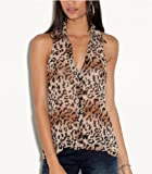 G by GUESS Abbie Sleeveless Collared Top