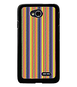 PrintDhaba Pattern D-5128 Back Case Cover for LG L90 (Multi-Coloured)