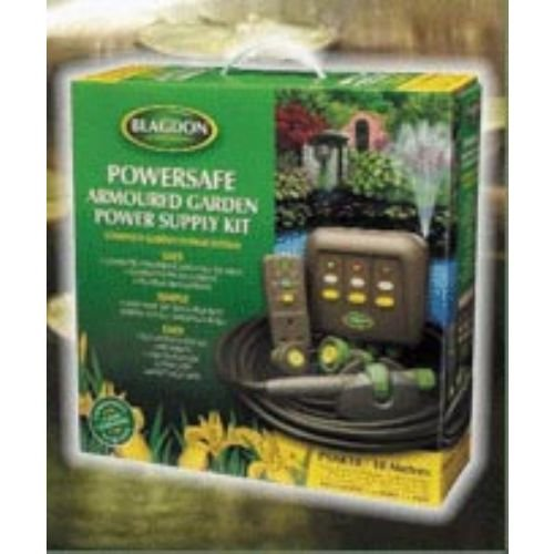 Blagdon Powersafe Armoured Garden Power Supply Kit - 10 metres