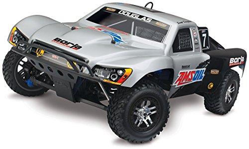 Traxxas Slayer Pro 4X4: 1/10-Scale Nitro-Powered 4WD Short Course Racing Truck with TQi 2.4GHz Radio & TSM, Douglas (Nitro Trucks 4x4 compare prices)