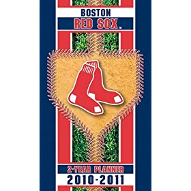 Boston Red Sox 2011-2012 2 Year Planner