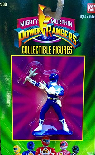 Mighty Morphin Power Rangers Collectible Figure - Blue Ranger - 1