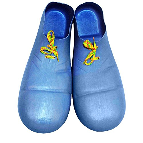Jumbo Blue Clown Shoes - One Size