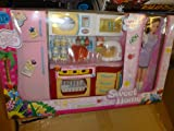 NEW&EXCLUSIVE LARGE kitchen set with lights and sounds for mannequin dolls (sold with one doll)