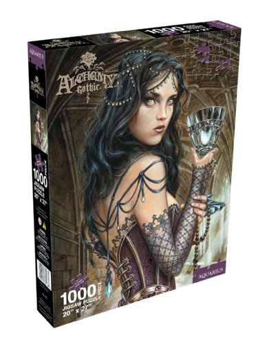 Cheap Aquarius Alchemy Name of the Rose 1000 Piece Jigsaw Puzzle (B0032JTJJE)