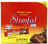 Slimful Diet Supplements, Cocoa Brownie, 12 - .92 oz. Bars, Net Wt 11.04 Ounce