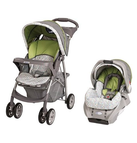 Graco LiteRider Stroller & SnugRide Car Seat - Pasadena