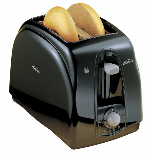 Sunbeam 3910-100-000 2-slice Toaster [black]