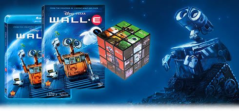 Cheap Walt Disney Wall-E Puzzle Cube (B001O868YY)