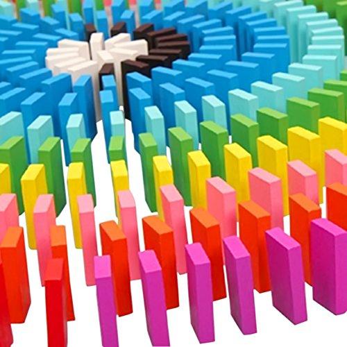 Vococal-120-piezas-Bricolaje-Bloques-de-Madera-Juego-juguete-educativo-para-niosColores-de-mezcla