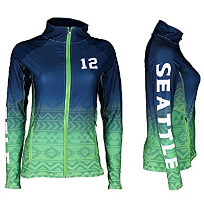 Seattle Football 12TH Fan Women's Sublimation Jacket