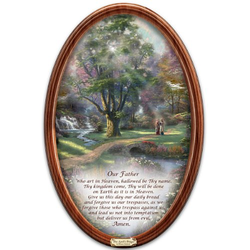 Thomas Kinkade Religious Collector Plate: Walk Of Faith by The Bradford Exchange