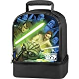 Star Wars Clone Wars Lightsaber Duel Insulated Lunch Tote