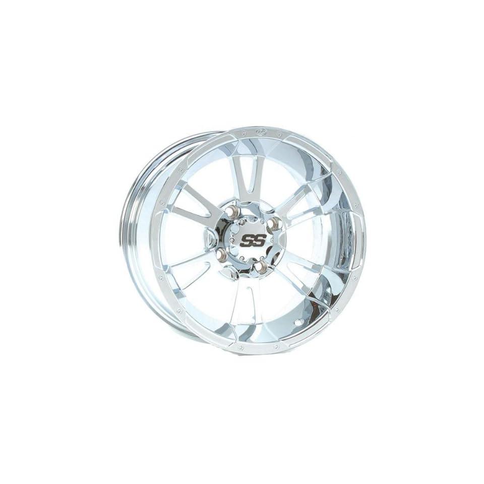 ITP SS112 Wheel   12x7   2+5 Offset   4/110   Chrome, Wheel Rim Size 12x7, Rim Offset 2+5, Bolt Pattern 4/110 1228365718B