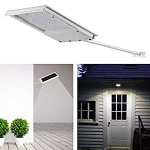 Coco Digital Solar Powered 3 LED Fence Gutter Light Outdoor Garden Wall Roof Lamp by Coco Digital