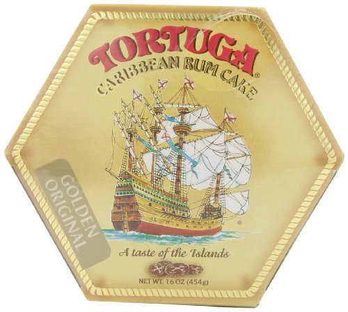 Tortuga Original Caribbean Rum Cake, 16-Ounce Cake (Fruit Cakes With Rum Or Brandy compare prices)