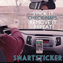 SMILEDRIVE SMART UNIVERSAL MOBILE STICKER: STICK YOUR PHONE ON ANY SURFACE