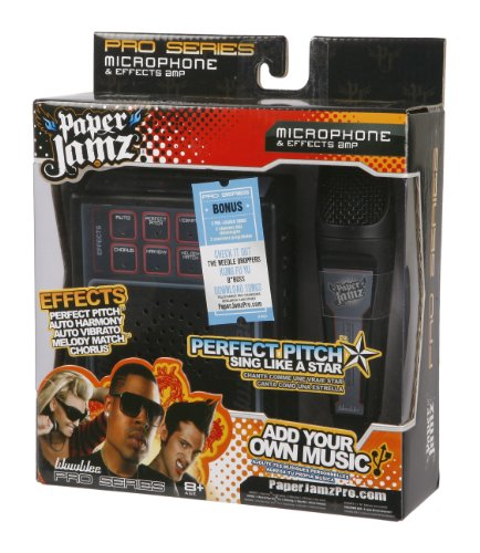 paper jamz pro mic style 3 New listing wowee paper jamz guitar paper jams toy guitar (2 colors/styles available ) au $2197 see more like this wowwee paper jamz pro mic series - style 3.