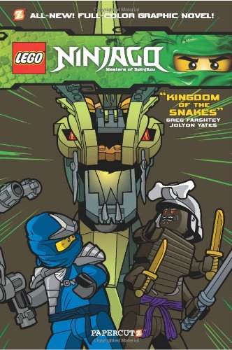 Ninjago 05 Kingdom of the Snakes (Lego Ninjago)