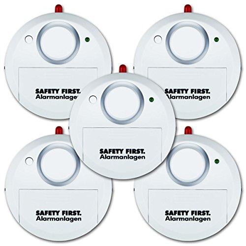 Kh Security Glasbruchalarm 5 Er Set Wei 223 100161set5