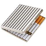 坪田パール タバコ ケース キングサイズ/ショート(85mm) 20本収納 シルバー 1-51407-81 ランキングお取り寄せ