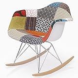 イームズ Shell Chair RAR (シェルチェア) / パッチワーク リプロダクト品