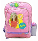 Mattel Backpack Barbie Large Backpack With Water Bottle Purple