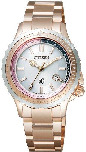 [シチズン]CITIZEN 腕時計 xC クロスシー Eco-Drive エコ・ドライブ ISO・JIS規格対応200m防水 ダイバーズ XCA38-9162 レディース