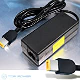 T-Power Ac Dc adapter for Lenovo IdeaPad Yoga 13 Ultrabook 13-2191 45N0261 IdeaPad Yoga 13 Official Lenovo 0C19868 LAPTOP Ultrabook Replacement super thin Laptop charger power supply cord wall plug spare