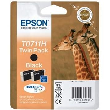 Epson C13T071140H10 Cartouche d'encre noir pour Epson Stylus BX 310/600/D 120/Office B 1100/40 w/SX 415