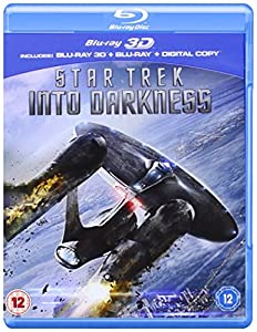 Star Trek Into Darkness (Blu-ray 3D + Blu-ray + Digital Copy) [Region Free] [2013]
