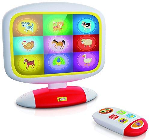 Lisciani - F49677 - Baby Smart TV - blanc/rouge/jaune