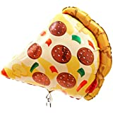 "29"" Mylar Pizza Slice Super Shape Balloon"