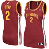 NBA adidas Kyrie Irving Cleveland Cavaliers Women's Replica Jersey - Wine (Medium) Amazon.com