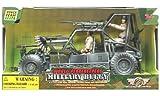 Vehicule Militaire et Figurine