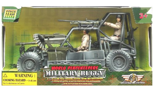 Buy Low Price Power Team Elite World Peacekeepers Military Buggy and Figures (B00067UAK2)