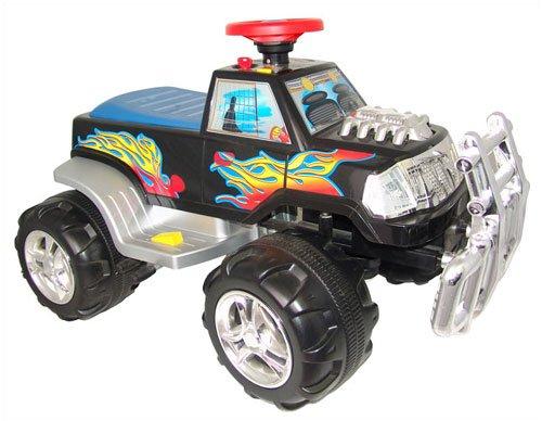 New Star Monster Power Wheels Vehicle in Black