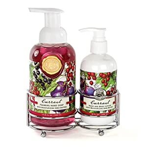 Currant Handcare Caddy Set Michel Design Works Soap Lotion Gift