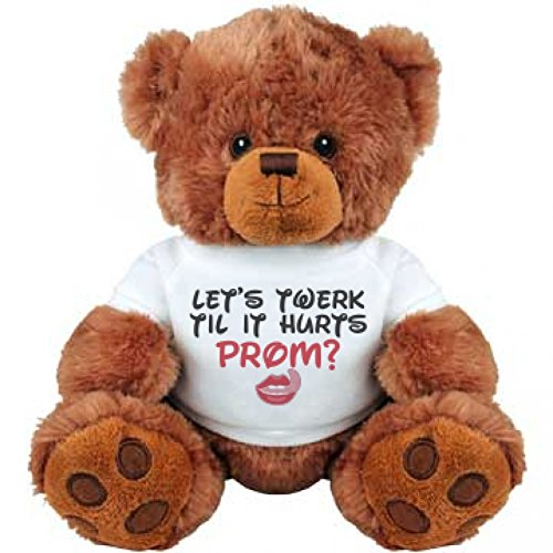 Twerking Prom Bear: Medium Plush Teddy Bear