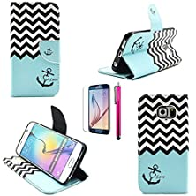 buy S3 Case, Casemart High-Class Foldable Wallet Case Soft Pu Leather Stand Cover With Magnetic [Card Holder] Protective Slim Shell For Samsung Galaxy S3 (I9300) -Stripe