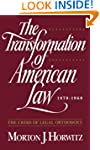 The Transformation of American Law, 1...