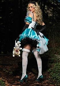 超カワイイ! ハロウィン 定番 不思議の国 アリス コスプレ 衣装 コスチューム レディース 大人 フリーサイズ