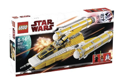 LEGO Star Wars 8037 - Anakin's Y-Wing Starfighter