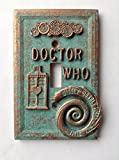 Doctor Who Light Switch Cover - Aged Copper/Patina or Stone (Copper/Patina)