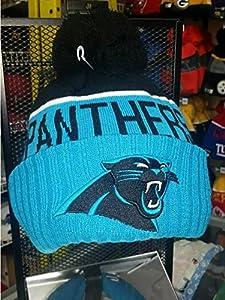 New Era Carolina Panthers Nfl Knit Beanie Blue One Size